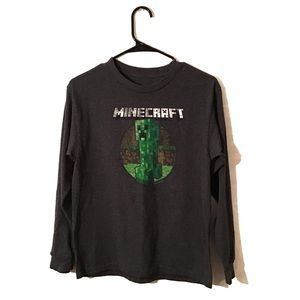 Minecraft Long Sleeve Shirt